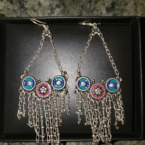 Lucky brand necklace and earings